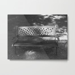 Kylemore Abbey Bench Metal Print