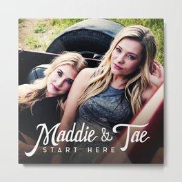 MADDIE TAE START HERE TOUR DATES 2019 MAWAR Metal Print