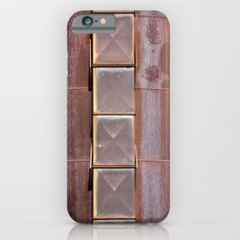 Silo used at blast furnaces iPhone Case