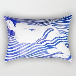 Water Nymph XIV Rectangular Pillow