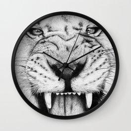 Lion Roar Wall Clock