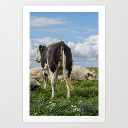 O, what a nice ass you have dear little cow Art Print