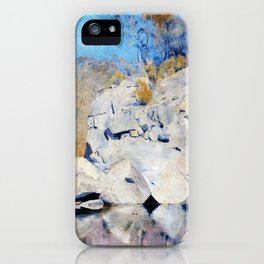 In A Corner On The Macintyre - Tom Roberts iPhone Case