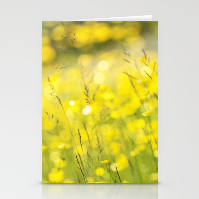 Summer Yellow Stationery Cards