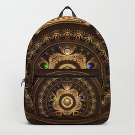 The Five Fractal Jeweled Elements of Qi Gong Backpack