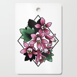 Red Flowering Currant Cutting Board