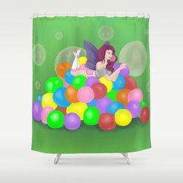 Bubblicious Shower Curtain