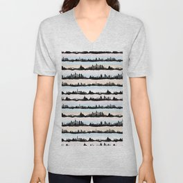 Cities Unisex V-Neck