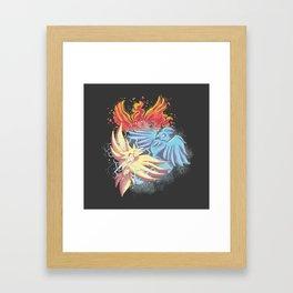 Team Battle Go! Framed Art Print