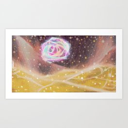 There are certain things that just get to you, and they're usually the little things. Art Print