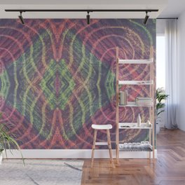 Abstract Shapes Reflect Wall Mural