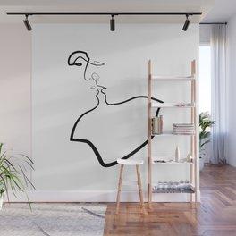 Friday Kiss Wall Mural
