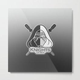 Knights of Ren Metal Print