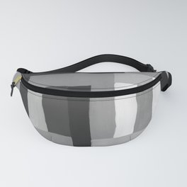 Painted Color Blocks Fanny Pack