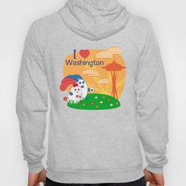 Ernest and Coraline | I love Washington Hoody