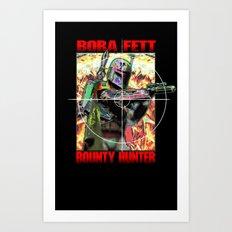 BF/Predator Art Print