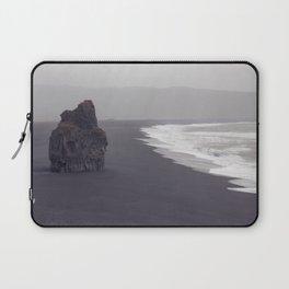 Black beach Laptop Sleeve