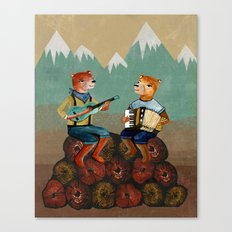 The Foresters Canvas Print