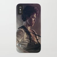 aliens iPhone & iPod Cases featuring Aliens by Jehzbell Black