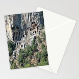 Carved Rock Tombs at Dalyan Stationery Cards