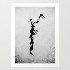 Spraypaint Art Print