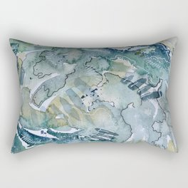 Falling Apart Rectangular Pillow