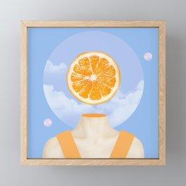 This sour inside you Framed Mini Art Print
