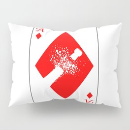 Ace of Diamonds Pillow Sham