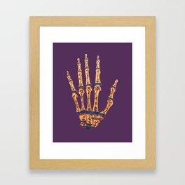 Hand Terrarium Framed Art Print