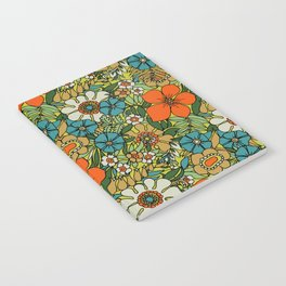 70s Plate Notebook
