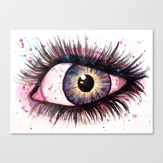 cosmic eye 2 Canvas Print