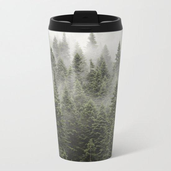 Porcupine ridge (clarity) Metal Travel Mug