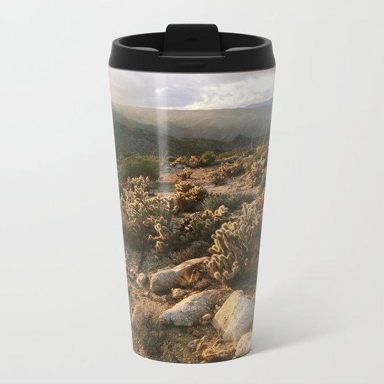 Borrego Desert Sunset Metal Travel Mug