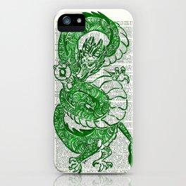 The Jade Dragon (Green Lantern: Kyle Rayner) iPhone Case