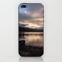 Boat Dusk iPhone Skin