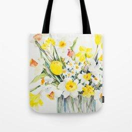 Mary's Daffodils Tote Bag