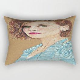 Lauren Cohan Rectangular Pillow