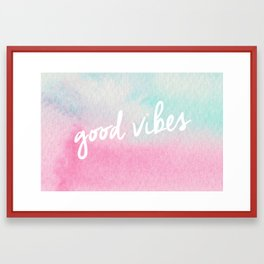 Color and Vibes Framed Art Print