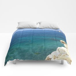 Summer Seascape Comforters