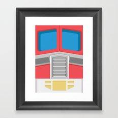 Minimal Prime Framed Art Print