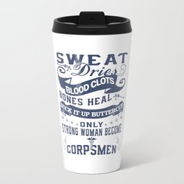 Corpsman Woman Travel Mug