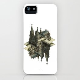m.c. cathedral iPhone Case