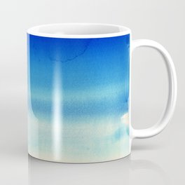 Sky Watercolor Texture Abstract 710 Coffee Mug