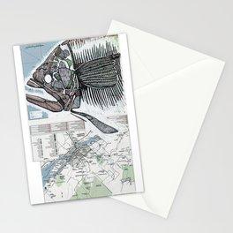 QUEBEC CITY, QUEBEC (2) Stationery Cards