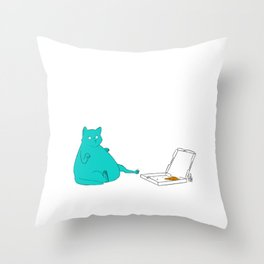 One More Slice Throw Pillow