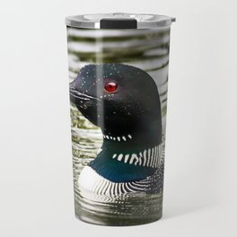 Pretty Loon Travel Mug