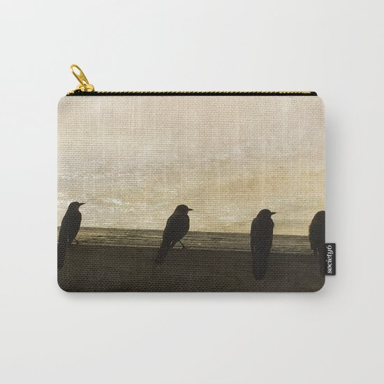 Four Blackbirds Carry-All Pouch