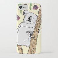 koala iPhone & iPod Cases featuring Koala by Madmi