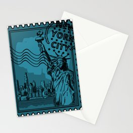New York City Stamp Stationery Cards