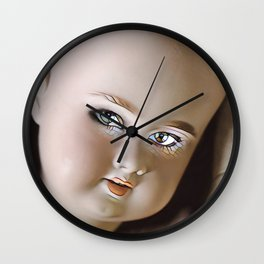 Doll Pieces Wall Clock